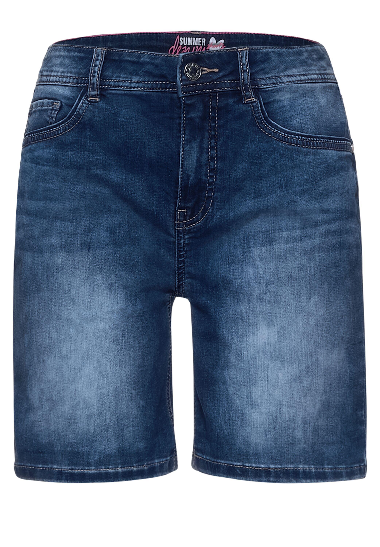 Style QR Kate shorts hw blue