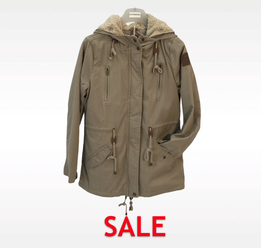 Jacke Authentic Style D7210A Farbe Oliv
