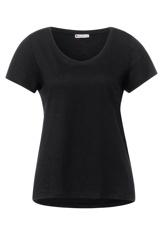 QR new Gerda T-Shirt in Unifarbe