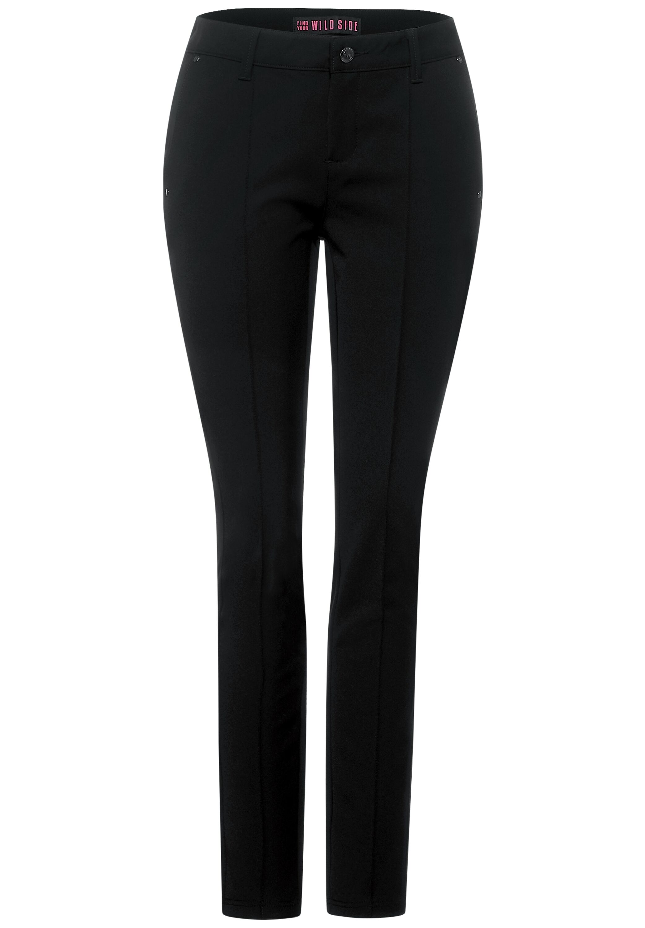 Slim Fit Hose Style York mit Middle Waist