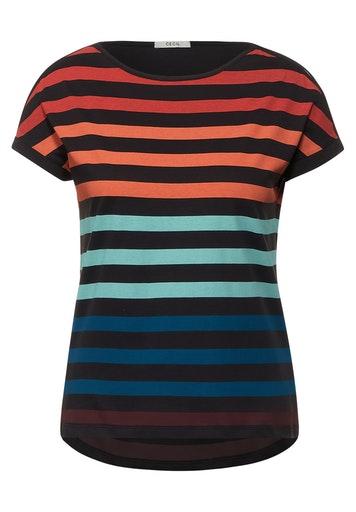 Multicolor Stripe Shape