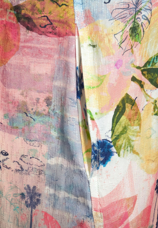 Dobby Print Dress